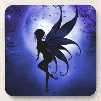 Fairy water dancer beverage coaster