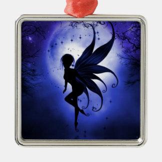 Fairy water dancer metal ornament
