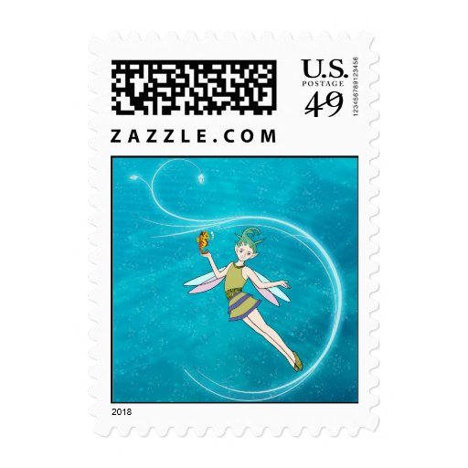 Fairy - Water Nymph Stamp