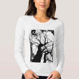 FAIRY WEBBY TREE B&W T-Shirt