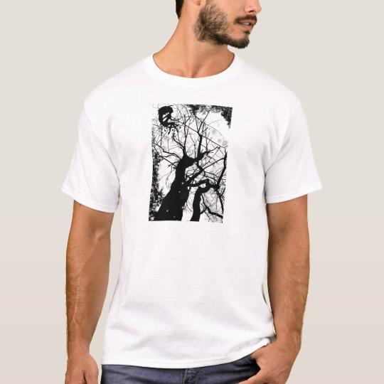 FAIRY WEBBY TREE BUBBLES B&W T-Shirt