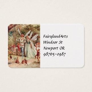 Fairy Wedding Business Card