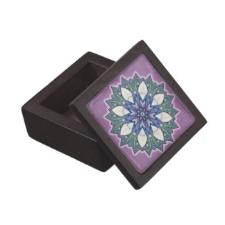 Fairy Wing Starburst Kaleidoscope Gift Box Premium Keepsake Boxes