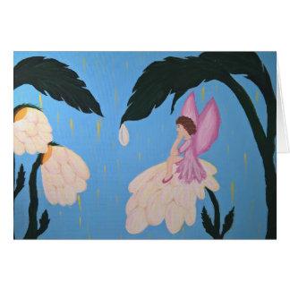 Fairy Wishes Horizontal Card