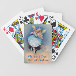 Fairy wishes playing cards
