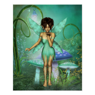 Fairy Wishes Poster