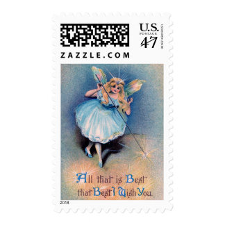 Fairy wishes stamp