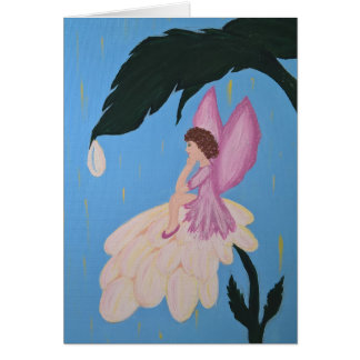 Fairy Wishes Vertical Card