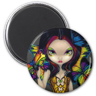 """""""Fairy with a Butterfly Mask"""" Magnet"""