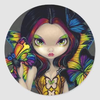 Fairy with a Butterfly Mask Sticker