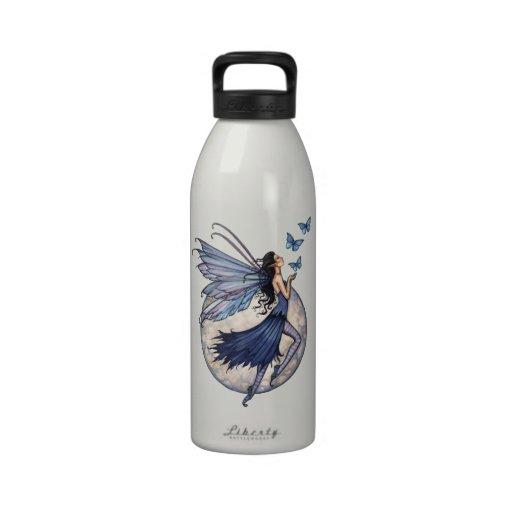 Fairy with Butterflies Water Bottle