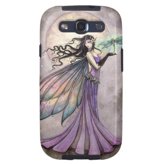 Fairy with Dragonfly Fantasy Art Samsung Galaxy S3 Case