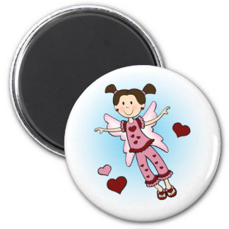 Fairy with Hearts Magnet