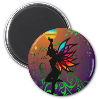 Fairy with Orb Fridge Magnets