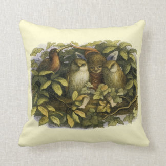 """""""Fairy with Owls"""" by Richard Doyle – Pillow"""