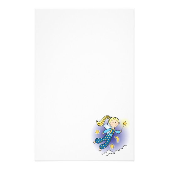 Fairy with Stars Stationery