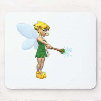 Fairy with Wand Mouse Mats