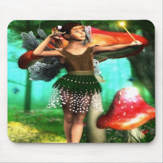 Fairy with Wand Mousepad