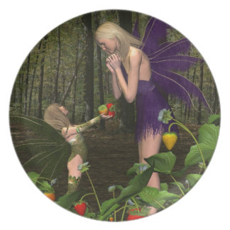 Fairy Woodland Mother's Day Gift Plate