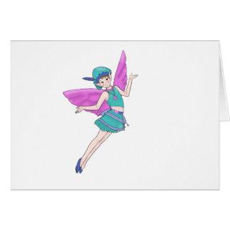 Fairy Woodland Sylph, Faerie Card