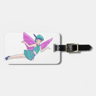 Fairy Woodland Sylph, Faerie Tag For Luggage