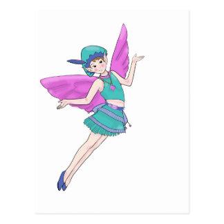 Fairy Woodland Sylph, Faerie Postcard