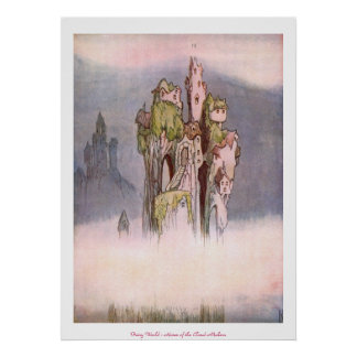 Fairy World - Home of the Cloud Makers Poster
