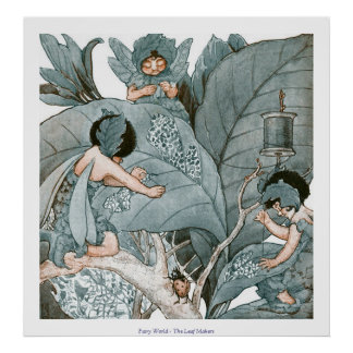 Fairy World - The Leaf Makers Poster