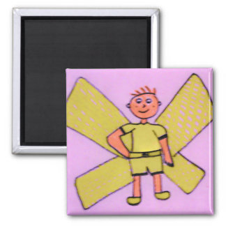 fairy yellow magnet