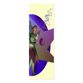 Fairy Ying dust bookmark Double-Sided Mini Business Cards (Pack Of 20)