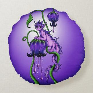 Fairydragon Round Pillow