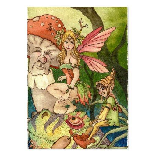 Fairyland Large Business Card