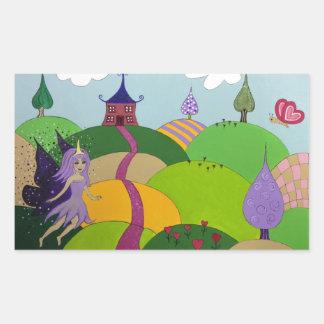 Fairyland Rectangular Sticker
