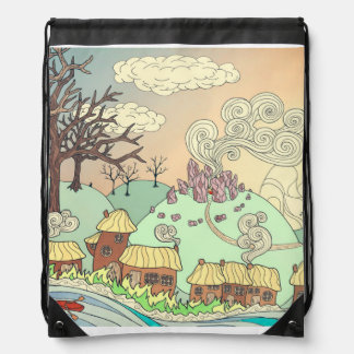 Fairyland upon the River Cinch Bags