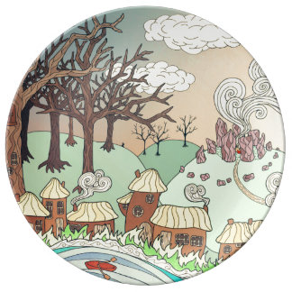 Fairyland upon the River Dinner Plate