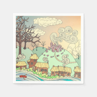 Fairyland upon the River Paper Napkin