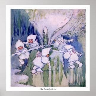 Fairylands - los fabricantes de la nieve poster
