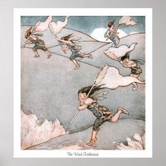 Fairylands - los recolectores del viento poster