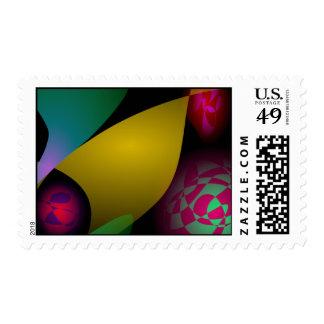 Fairy's Autumn Postage Stamp
