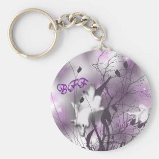 fairys best friends basic round button keychain