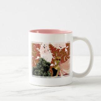 Fairy's Distraction Two-Tone Coffee Mug