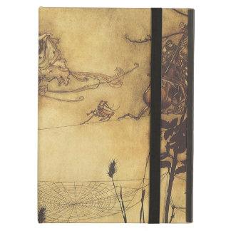 Fairy's Tightrope by Arthur Rackham, Vintage Art iPad Cover