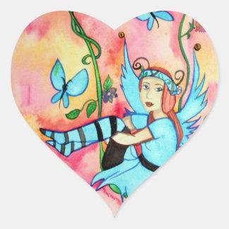Fairyswing fantasy sticker