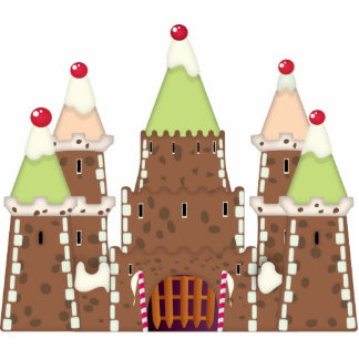 FairyTail Castle Cake Cutout