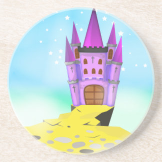 Fairytail Castle Drink Coaster
