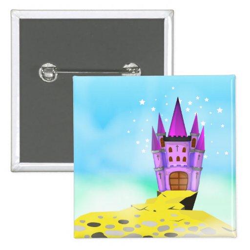 Fairytail Castle Pin