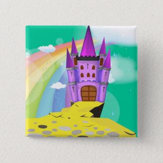 Fairytail Castle Pinback Button