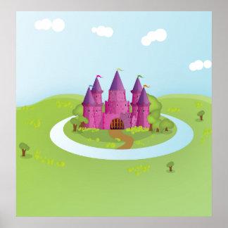 FairyTail Castle Poster