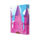 Fairytail Castle Stretched Canvas Print
