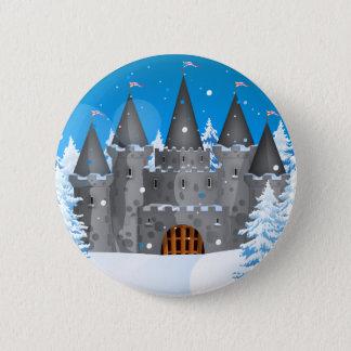 Fairytail Castle Winter Snow Button